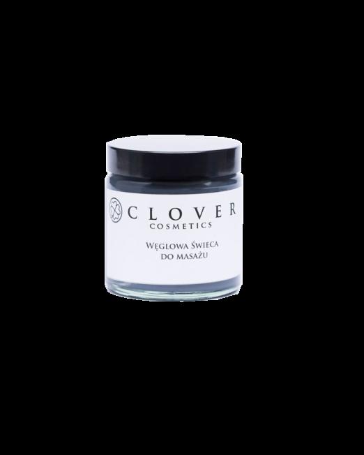 węglowa świeca do masażu Clover Cosmetics
