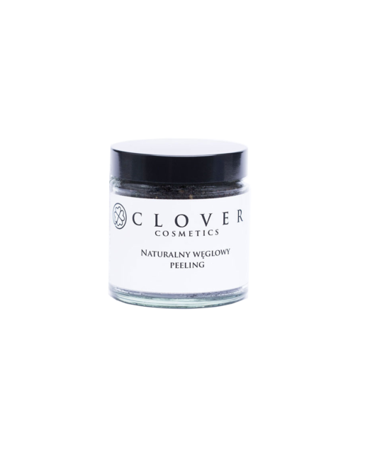 Naturalny węglowy peeling_Clover Cosmetics