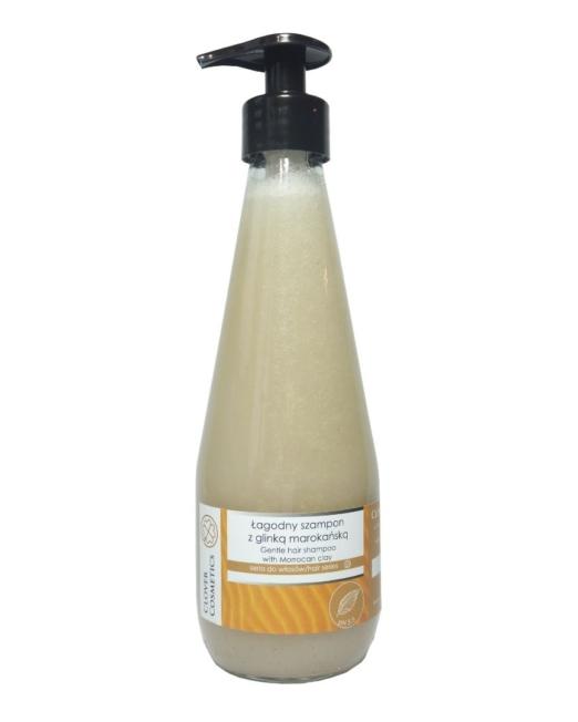 łagodny szampon z glinką marokańską